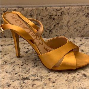 Sam Edelman Gold Heels